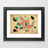 Dragon Playground Of Sin… Framed Art Print