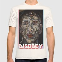 Visionary Mens Fitted Tee Natural SMALL