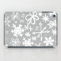Snowflake Concrete iPad Case