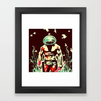 Peace And Quiet Framed Art Print