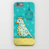 iPhone & iPod Case featuring Tweedle De De by Heather Dutton
