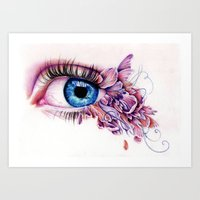 The Soul Would Have No Rainbow If The Eyes Had No Tears Art Print
