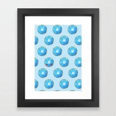 Dot, dot, dot... Donuts! Framed Art Print