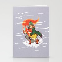 The Detective And The Fo… Stationery Cards