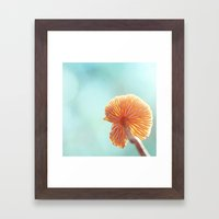 Tiny Tropical Cricket Canopy Framed Art Print
