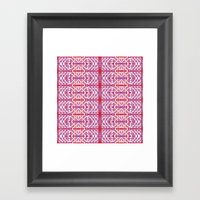 Purple for Marie  Framed Art Print