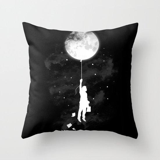 Midnight Traveler Throw Pillow