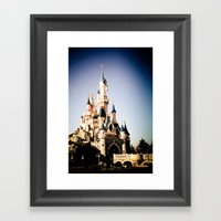 Disney Paris Framed Art Print