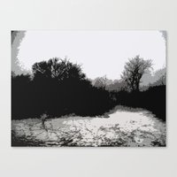 Into The Woods We Go Canvas Print