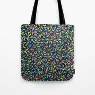 Watercolor Cats III Tote Bag