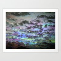 Colors Rolling In Art Print