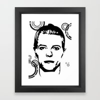 Thin White Duke Framed Art Print