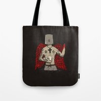 ANALOG zine wings Tote Bag