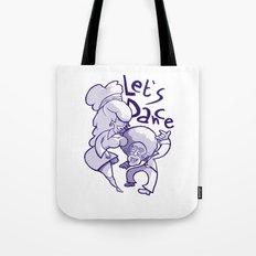 Let's Dance Tote Bag