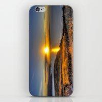 A Titicaca Sunset iPhone & iPod Skin
