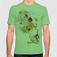 Cosmodigilogital Honey Mens Fitted Tee Grass SMALL