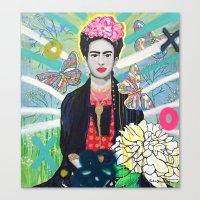 Frida Kahló Canvas Print
