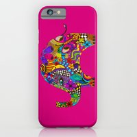 iPhone & iPod Case featuring PINK ELEPHANT by VIAINA