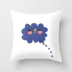 that's where the rain comes from Throw Pillow