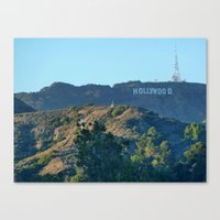 Hills of Hollywood Canvas Print