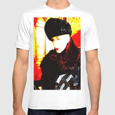 Cotton Club The Ice Queen White SMALL Mens Fitted Tee