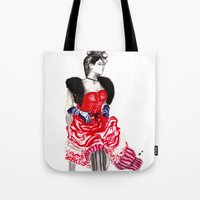 Can Can Dancer Tote Bag