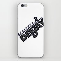 Resident Deejay iPhone & iPod Skin