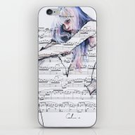 Waiting Place On Music S… iPhone & iPod Skin