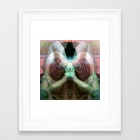 Holding on to Four Ever Framed Art Print