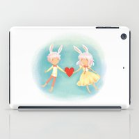 Bunny Hearts iPad Case