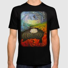 Earth-and-Sky Mens Fitted Tee Black SMALL