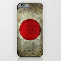 iPhone & iPod Case featuring The national flag of Japan by Bruce Stanfield