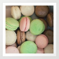 French Macaroons Art Print