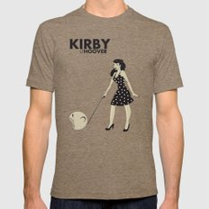 Kirby Hoover Mens Fitted Tee Tri-Coffee SMALL