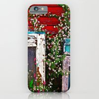 Window Flowers iPhone 6 Slim Case
