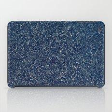 Black Sand II (Blue) iPad Case