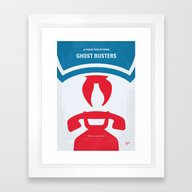 No104 My Ghostbusters Mi… Framed Art Print