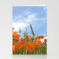 california poppy VII Stationery Cards