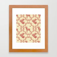 Year of the Ram Framed Art Print