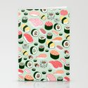 Sushi Love Stationery Cards