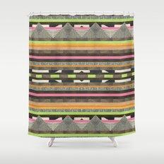 DG Aztec No. 2 Shower Curtain