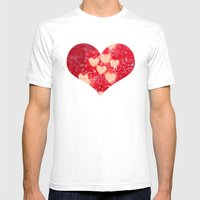 Be My Valentine Mens Fitted Tee White SMALL