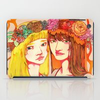 Snow White and Rose Red iPad Case