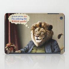Hungry Lion iPad Case