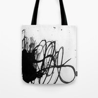 line stain dynamics Tote Bag