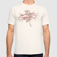 Cat's Cradle Mens Fitted Tee Natural SMALL