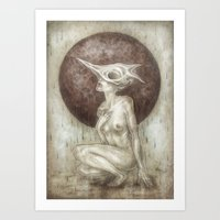 Bones.Rain Art Print
