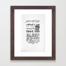 One Direction: Little Things Framed Art Print