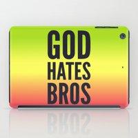 God Hates Bros iPad Case