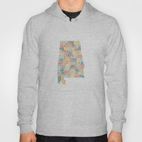 Alabama By County Hoody